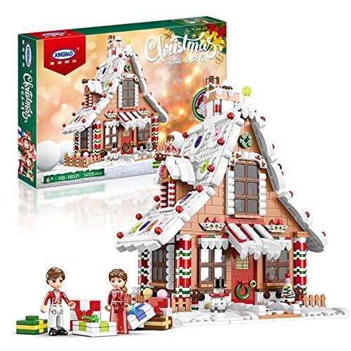 Weihnachts Baukasten mit LED-Licht, 1455 Stück...