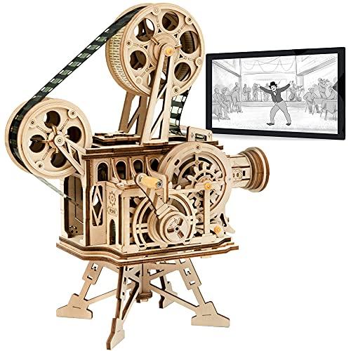 Robotime Mechanisch Vitascope Holz Modellbau 3D Puzzle Erwachsene...