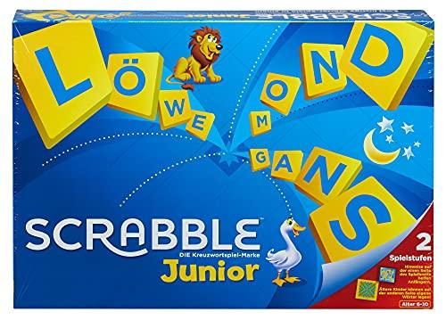 Mattel Spiele Y9670 Scrabble Junior Wortspiel und Kinderspiele,...