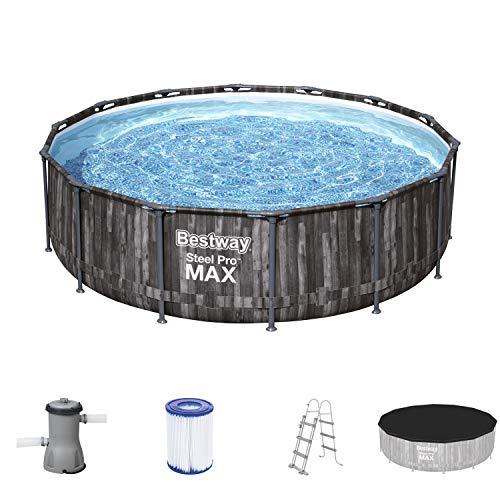 Bestway Steel Pro Max 14 x 42Zoll, 4,27 x 1,07 m, Pool Set,...