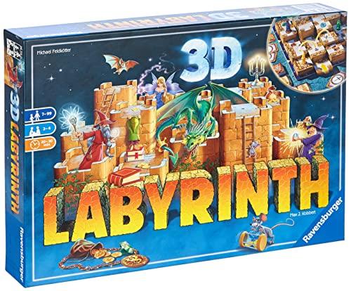 Ravensburger 26113 - 3D Labyrinth - Familienklassiker, Spiel für...