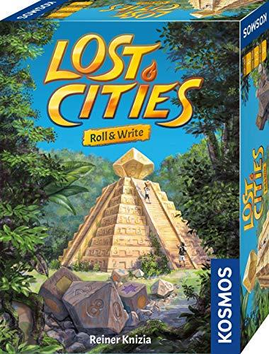Kosmos 680589 Lost Cities - Roll & Write, Das beliebte...