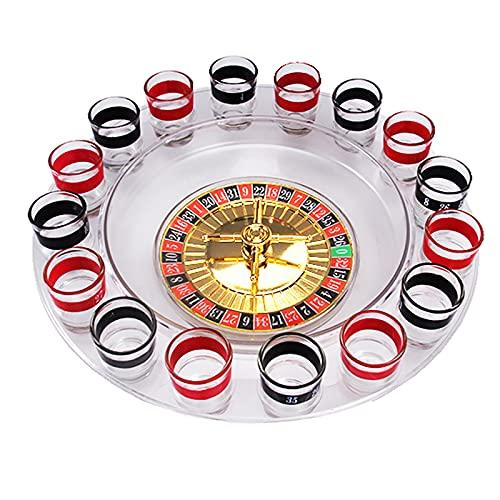 OMKMNOE Party Trinkspiel Roulette,Roulettespiel Für Erwachsene...