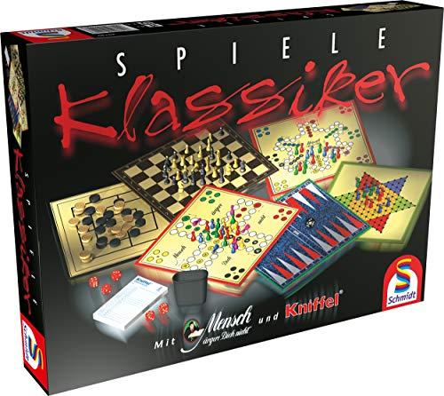 Schmidt Spiele 49120 Spiele Klassiker, Spielesammlung