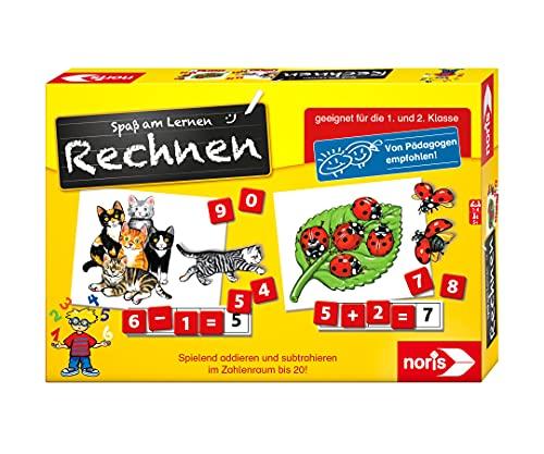 Noris 606076341 Spaß am Rechnen, Kinder Lernspiel zum Rechnen...