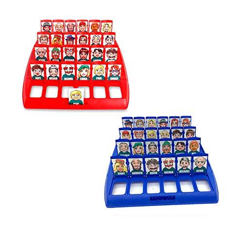 Wer ist es Lustiges Ratespiel Brettspiel Eltern Kind Interaktives...