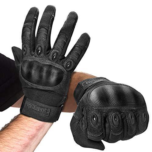FREETOO Motorradhandschuhe Herren Sport Handschuhe Vollfinger Taktische Handschuhe...