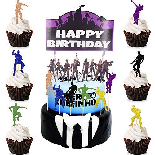 BESLIME Geburtstag Tortendeko 13pcs Cake Topper, Cake Topper...