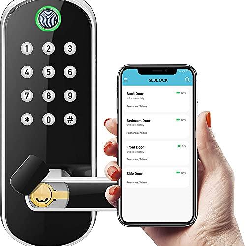 Xinhen Smart Lock, Keyless Entry Door Lock, externes...