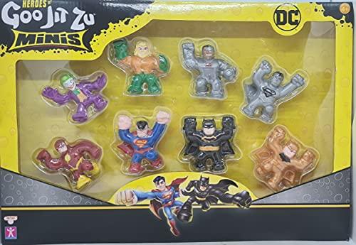 Heroes Of Goo Jit Zu Minis DC Comic Figuren 8er Set inkl. Ultra...