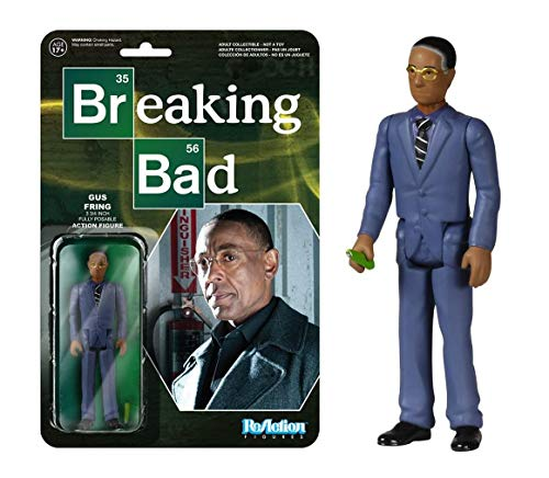 Breaking Bad Gustavo Fring Reaction 3 3/4-Inch Retro Action...