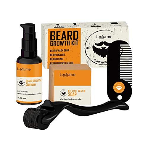 monshop Bartwachstums Mittel Set, Bart Pflegeprodukte Bartöl...