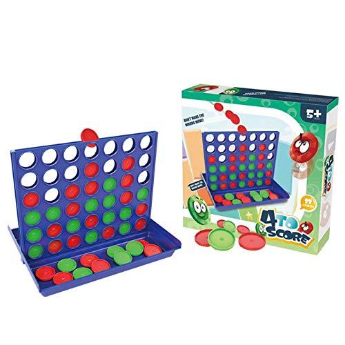 GoRIKI 4 In Einer Reihe Spiel, 4 Gewinnt Pädagogisches Spielzeug...