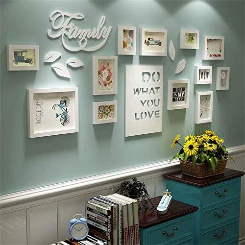 XINGXISHI Bilderrahmen Collage Brief pastoralen Schlafzimmer...