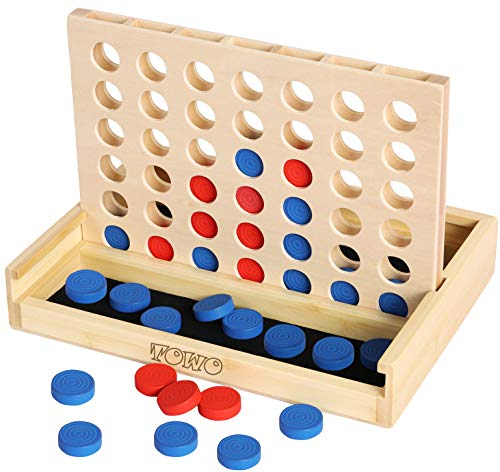 Towo Holz 4 in einer Reihe Spiel-klassisches Strategie-Spiel für...