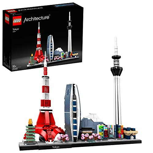 LEGO 21051 Architecture Tokio Modell, Skyline-Kollektion, Bauset für Sammler