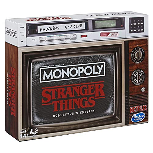 Monopoly Stranger Things Sammler-Edition, ENGLISCHE Version,...
