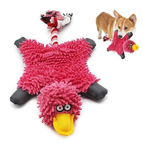 Quietschendes Plüsch-Hundespielzeug, interaktives gefülltes...