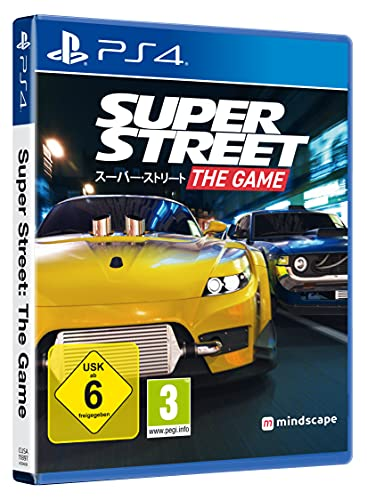 SUPER STREET - The Game - Autorennen Simulation - [PlayStation 4]