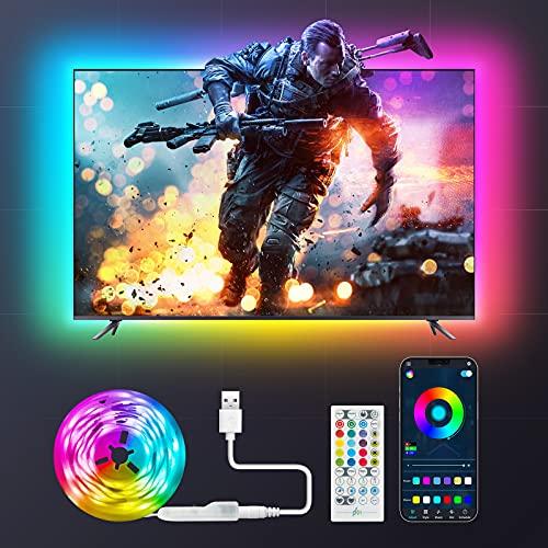 Maxsure LED Strip 2M LED Streifen, RGB LED TV...
