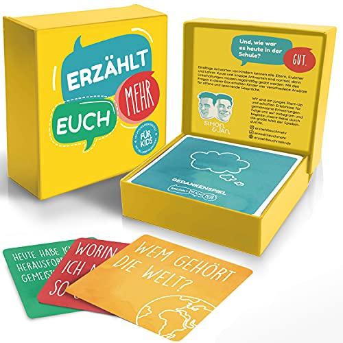 Erzählt euch mehr für Kids - Kommunikationsspiel für Kinder -...