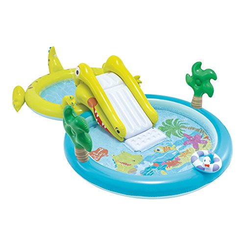 Wasserspass Kinderpool mit Rutsche