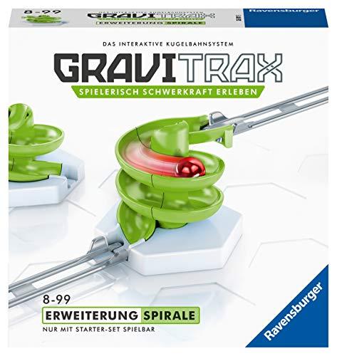 Ravensburger GraviTrax Erweiterung Spirale - Ideales Zubehör für spektakuläre Kugelbahnen,...