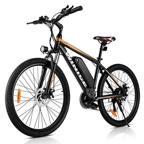 WINICE 26 Zoll Elektrofahrrad Herren Damen,500W Mountainbikes...