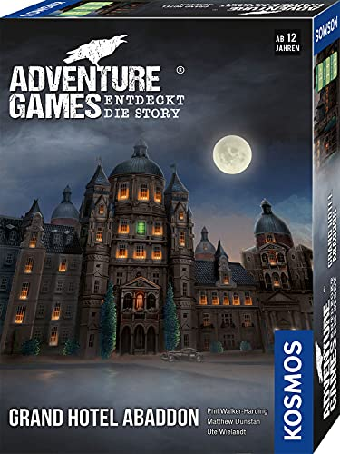 KOSMOS 693190 Adventure Games - Grand Hotel Abaddon. Entdeckt die...