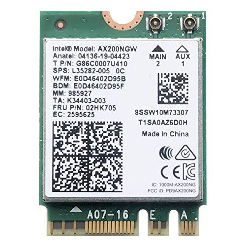 VANLONTD WiFi 6 AX200 WiFi Card   2400Mbps Wireless Module  ...