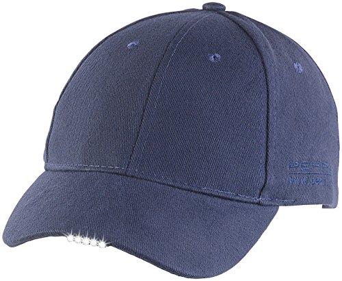 PEARL LED Cap: LED-Schirmmütze mit 5 Highpower-LEDs (Kappe mit...