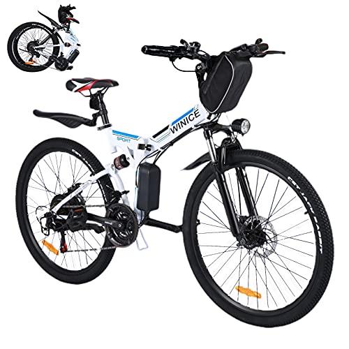 Vivi 26 Zoll Elektrofahrrad Klapprad, 350W Ebike Mountainbike,...