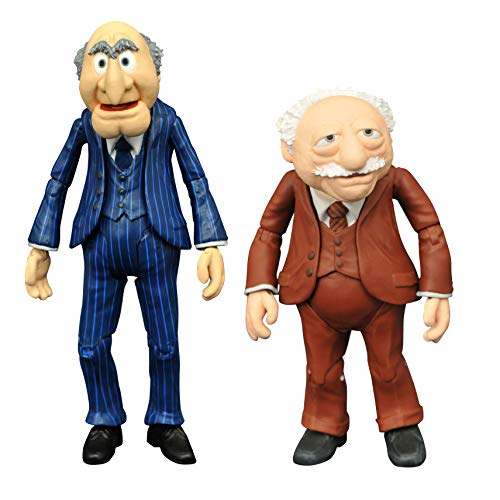 Statler & Waldorf The Muppets Action Figures with Accessories...