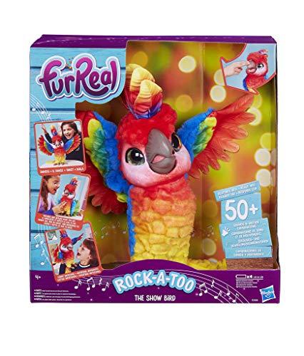Hasbro FurReal Pauli – Mein Tanzender Papagei, interaktives...