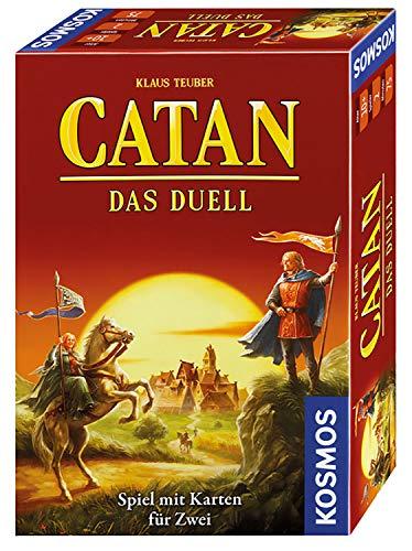 KOSMOS 693732 - CATAN - Das Duell, Strategiespiel, Spiel mit...