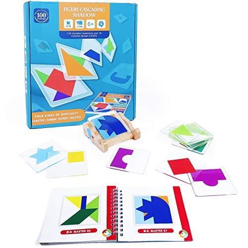 jerryvon Montessori Spielzeug Puzzle Kinder Steckspiel Puzzle...