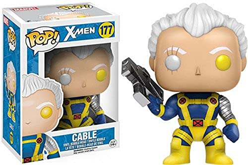 Funko 11694 X-Men 11694 Marvel Cable Pop Bobble Figure