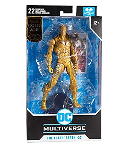 McFarlane Toys DC Multiverse Gold Label Red Death The Flash...