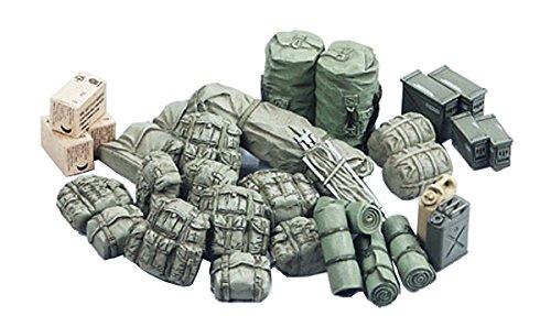 TAMIYA 35266 1:35 Diorama-Set US Militär Zub. Modern,...