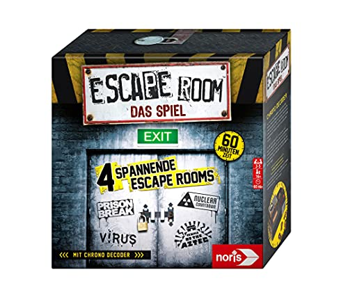 Noris 606101546 - Escape Room (Grundspiel) - Familien und...