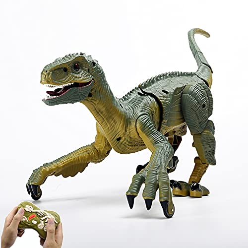 GDZTBS Ferngesteuerte Dinosaurier Spielzeug für Kinder,...