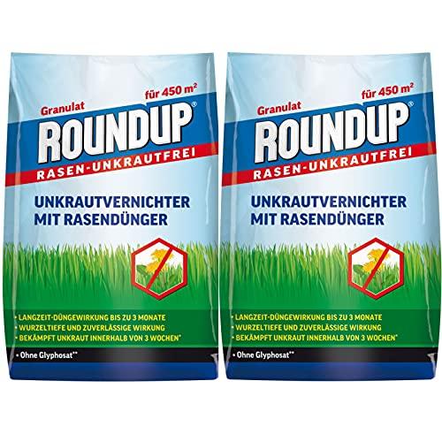 hagebauSPN 18 kg Roundup® Rasen-UNKRAUTFREI UNKRAUTVERNICHTER...