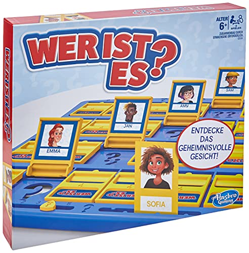 Hasbro Gaming C2124398 Wer ist es? Das Original, Ratespiel für...