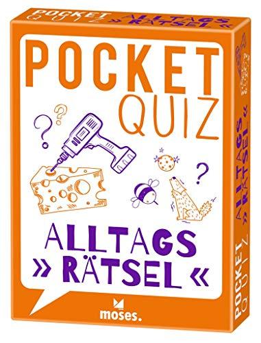 Pocket Quiz Alltagsrätsel (Pocket Quiz / Ab 12 Jahre...
