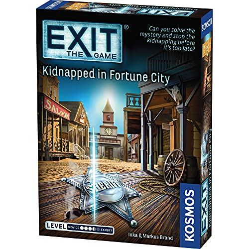 Thames & Kosmos 692861 | EXIT Kidnapped in Fortune City | Level:...