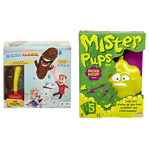 Mattel Games Kacka Alarm deutschsprachig, lustiges Kinderspiel...