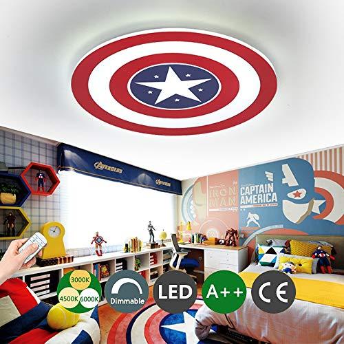 Captain America Deckenleuchte LED Creative Deckenleuchte...