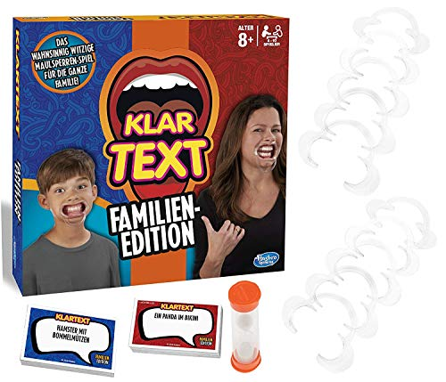 Klartext Familien-Edition, Partyspiel mit Lachgarantie für Klein...