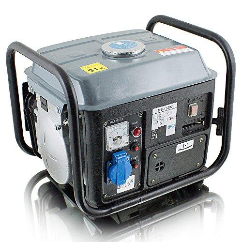 BITUXX® 850W Benzin Notstromaggregat Stromgenerator...