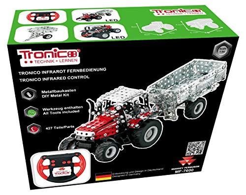 TRONICO Metallbaukasten RC Traktor MF Massey...